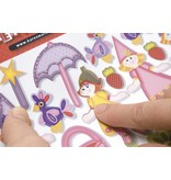 Kinder Bastelsets / Kids Craft Kits Los niños Bastelset 6 tarjetas y sobres: Fairies