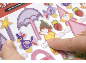 Kinder Bastelsets / Kids Craft Kits Kinder Bastelset 6 Karten und Umschläge: Feen