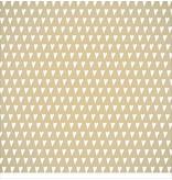Designer Papier Scrapbooking: 30,5 x 30,5 cm Papier Scrapbooking-Papier: kleine Herzen goldeffekt
