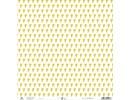 Designer Papier Scrapbooking: 30,5 x 30,5 cm Papier Scrapbooking de papel: pequeños corazones de oro