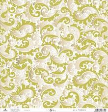 Designer Papier Scrapbooking: 30,5 x 30,5 cm Papier Scrapbooking carta: viticci d'oro