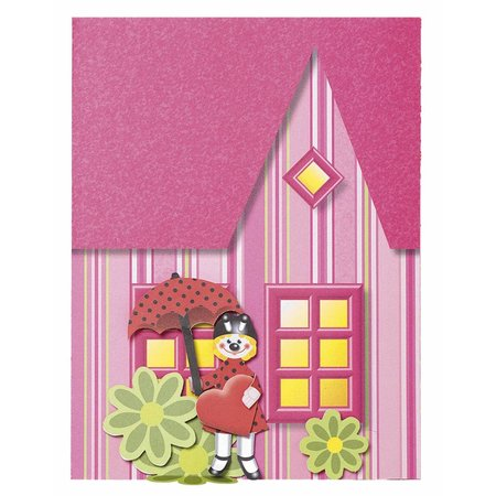 Kinder Bastelsets / Kids Craft Kits Stanzteile beidseitig bedruckt: Marie & Friends