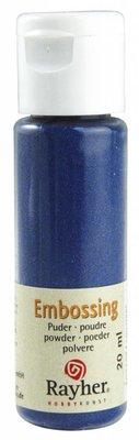 FARBE / INK / CHALKS ... Embossingspulver: royalblau, deckend