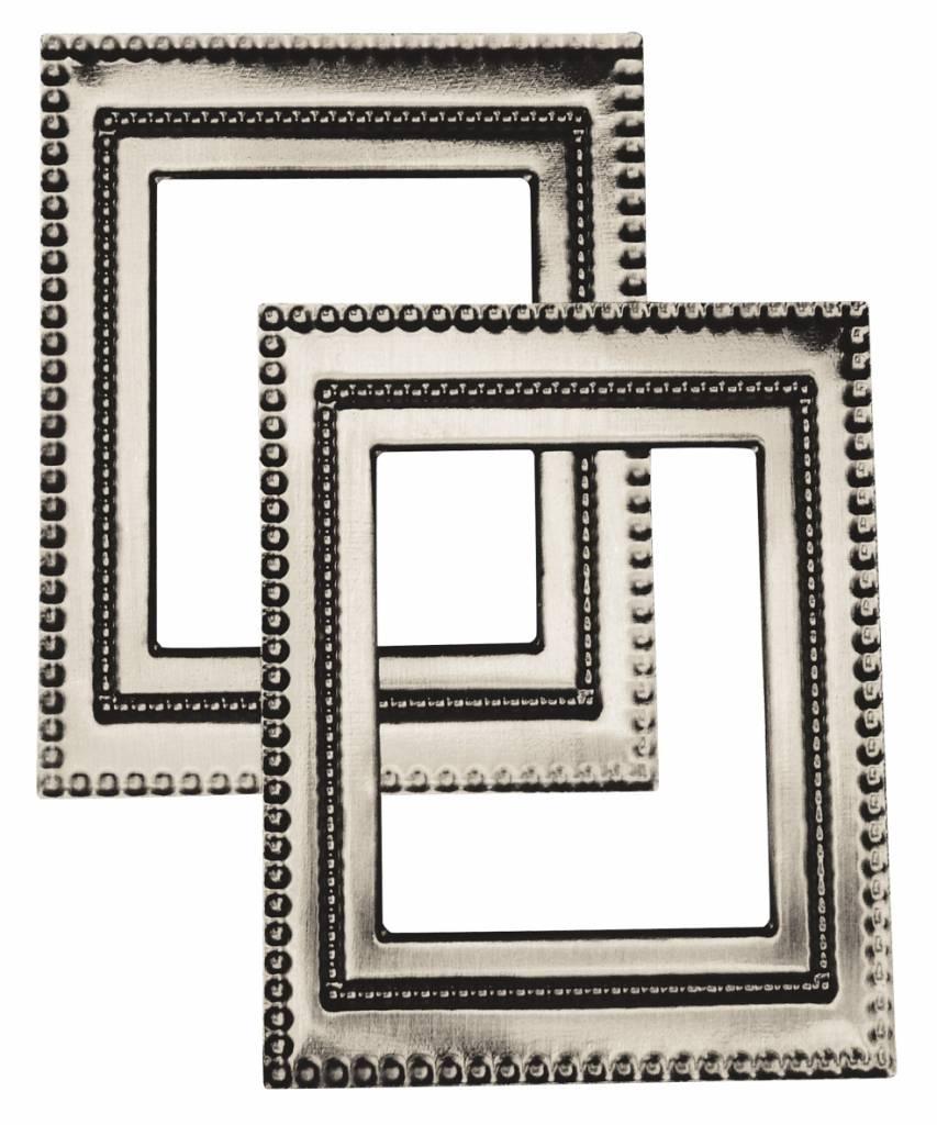 Embellishments / Verzierungen Metall-Rahmen \