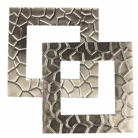 """Embellishments / Verzierungen Metall-Rahmen """"Moderne"""" 5,5 x 5,5 cm"""