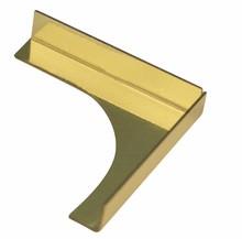 Embellishments / Verzierungen Stick per pennacchi, ottone: 23x23x4mm