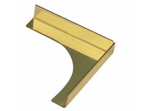 Embellishments / Verzierungen Stick to spandrels, brass: 23x23x4mm