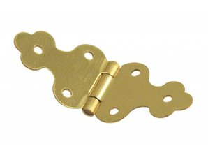 Embellishments / Verzierungen Decorative hinges, brass: 10x30mm