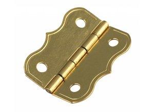 Embellishments / Verzierungen Decorative hinges, brass: 25x20mm