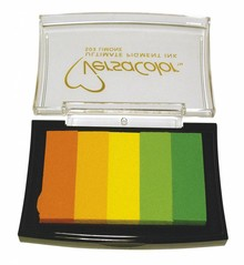 """FARBE / INK / CHALKS ... Stamp pad """"Versacolor"""" Limone"""