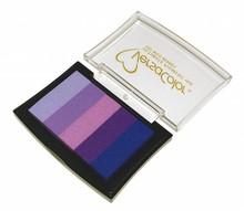 "FARBE / INK / CHALKS ... Stamp pad ""Versacolor"" purple tones"