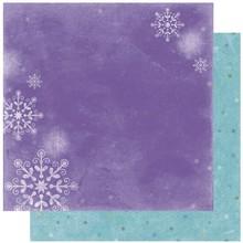 Designer Papier Scrapbooking: 30,5 x 30,5 cm Papier Scrapbooking Paper: Winter Joy Frosty