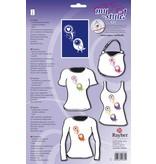 Textil Schablone für Textilgestaltung: DIN A 4