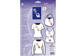 Textil Plantilla para el diseño textil: DIN A 4