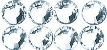 Schmuck Gestalten / Jewellery art Swarovski crystal stones iron-on, crystal, 3mm