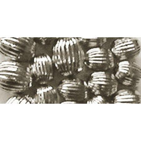 Schmuck Gestalten / Jewellery art Rillenperlen, silber, 8mm
