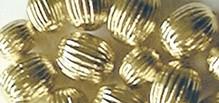 Schmuck Gestalten / Jewellery art Grooves perle, oro, 8mm