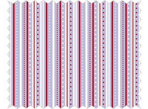 Tante Ema Cotton fabric: strip game, lilac