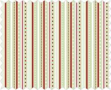 Tante Ema Tela de algodón: juego de tira, verde lima