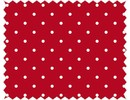 Tante Ema Cotton fabric: Lucky Classic Red,