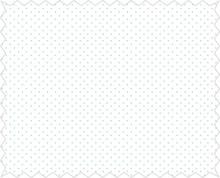 Tante Ema Tessuto di cotone: mini coriandoli, azzurro