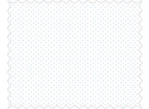 Tante Ema Cotton fabric: mini confetti, azure