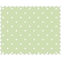 Tela de algodón: amuleto de buena suerte, verde lima