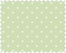 Tante Ema Tela de algodón: amuleto de buena suerte, verde lima
