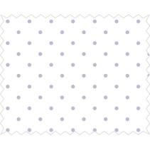 Tela de algodón: puntos Felicidad, lila