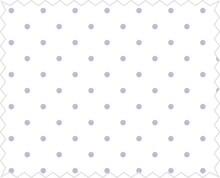 Tante Ema Tessuto di cotone: punti Felicità, lilla
