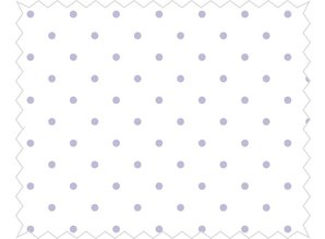 Tante Ema Cotton fabric: Happiness points, lilac