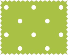 Tante Ema Cotton fabric: Lucky chartreuse,