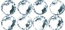 Schmuck Gestalten / Jewellery art Cristallo Swarovski pietre a caldo, cristallo, 4mm