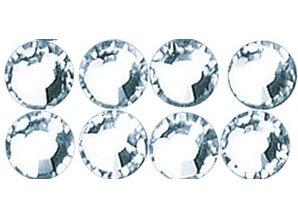 Schmuck Gestalten / Jewellery art Swarovski crystal beads to iron, crystal, 4mm