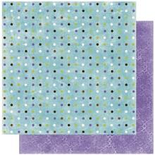 Designer Papier Scrapbooking: 30,5 x 30,5 cm Papier Scrapbooking Papir: Vinter glæde dot