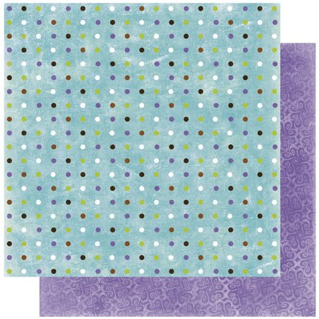 Designer Papier Scrapbooking: 30,5 x 30,5 cm Papier Scrapbooking-Papier:Winter joy dot