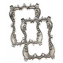 "Metal-frame ""romance"" 7.0 x 5.0 cm"