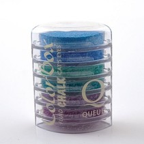 Colorbox Stempelink: 6 verschiedene Farbe, Cat´s Eye