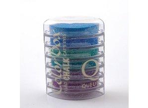 FARBE / INK / CHALKS ... Colorbox Stempelink: 6 verschiedene Farbe, Cat´s Eye