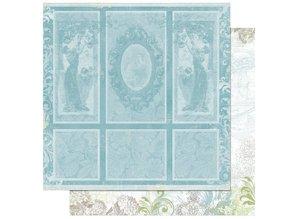 Designer Papier Scrapbooking: 30,5 x 30,5 cm Papier Scrapbooking Paper: Welcome home portraity