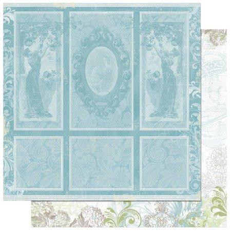Designer Papier Scrapbooking: 30,5 x 30,5 cm Papier Scrapbooking-Papier: Welcome home portraity