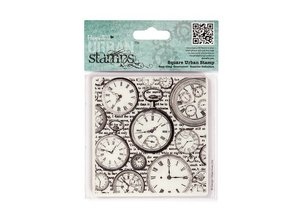Docrafts / Papermania / Urban Urban Square, rubber stamp
