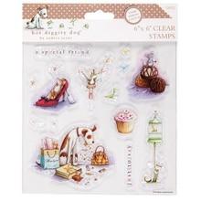 Stempel / Stamp: Transparent Timbri trasparenti, 15x15cm, motivi cane