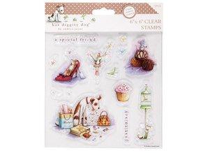 Stempel / Stamp: Transparent Clear stamps, 15x15cm, dog motifs