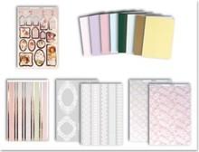 """Exlusiv Scheda creativa: """"Deluxe"""", fissato per 8 carte """"Victorian Romance 2"""""""