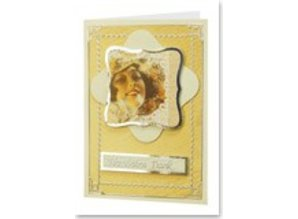 "Exlusiv Creative Card: ""Deluxe"", set for 8 cards ""Victorian Romance 2"""
