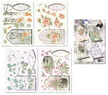 "BASTELSETS / CRAFT KITS: Scheda floreale set di ""Staf Wesenbeek"""
