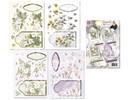 """BASTELSETS / CRAFT KITS: Floral card set of """"Staf Wesenbeek"""""""