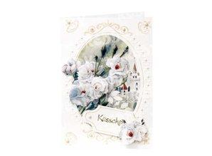 """BASTELSETS / CRAFT KITS: 3D-Bastelset Blumenkarten"""" Blütenzauber"""" von Franz Heigl,"""