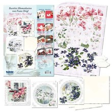 "BASTELSETS / CRAFT KITS: 3D Craft Kit Flower Cards ""Flower Magic"" by Franz Heigl"